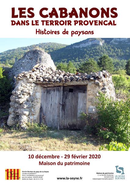 Exposition «Les cabanons dans le terroir provençal : histoires de paysans» à La Seyne-sur-Mer - 0