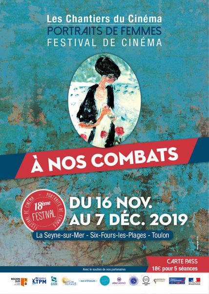 18è festival de cinéma portraits de femmes «A nos combats» à La Seyne-sur-Mer - 0