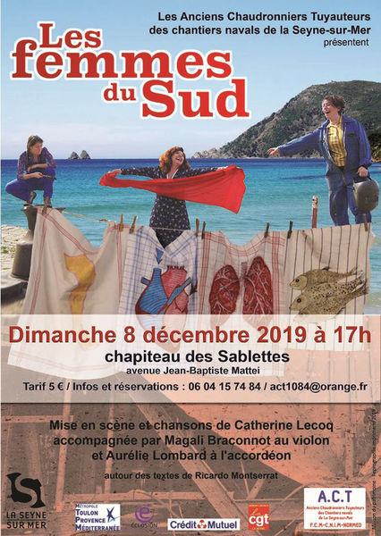 Comédie-théâtre «Les Femmes du Sud» à La Seyne-sur-Mer - 0