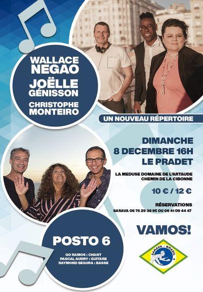 Concert Brésil à Le Pradet - 0
