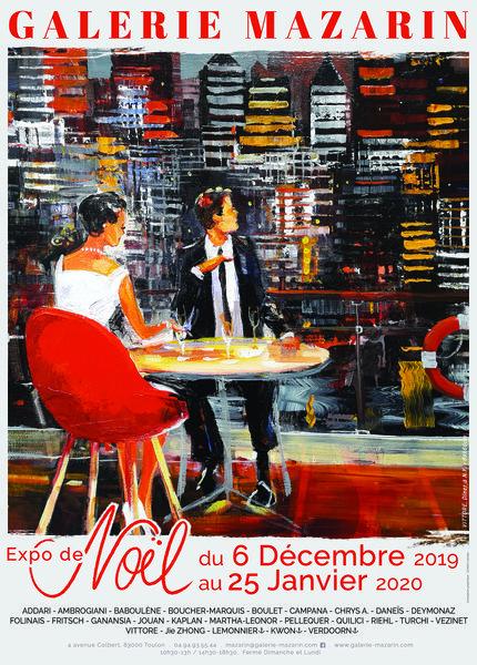 Artistes à découvrir / L'Expo de Noël à la galerie Mazarin à Toulon - 0