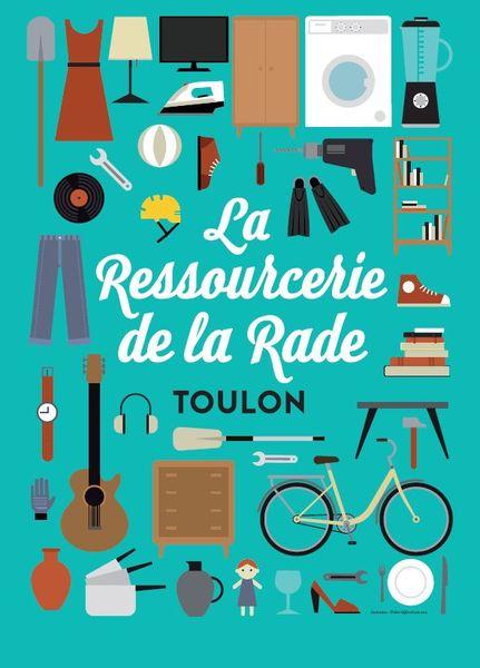 Braderie mensuelle de la Ressourcerie de la Rade à Toulon - 0