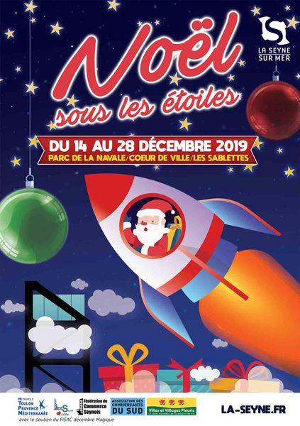 Les animations de Noël «Noël sous les étoiles» à La Seyne à La Seyne-sur-Mer - 0