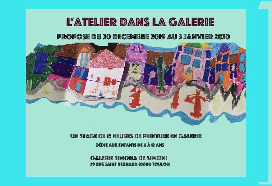 Artistes à découvrir / Journée d'ouverture de la galerie Simona de Simoni à Toulon - 0