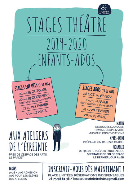 Stage Théâtre Compagnie de  L'Etreinte à Le Pradet - 0