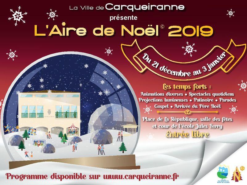 Aire de Noël à Carqueiranne - 0