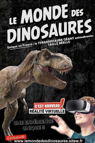 Jeune public – Expo « Le monde des dinosaures » à Toulon - 0