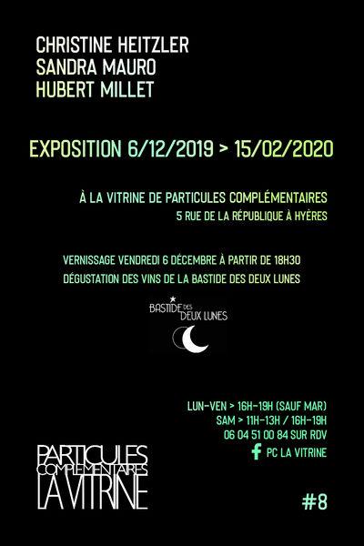 Expo Éclairages chez Particules Complémentaires La Vitrine à Hyères - 0