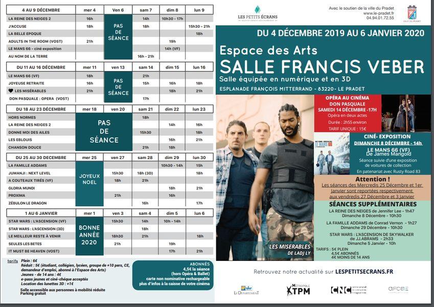 Cinéma programme à Le Pradet - 0