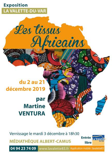 Exposition – Les tissus africains à La Valette-du-Var - 0