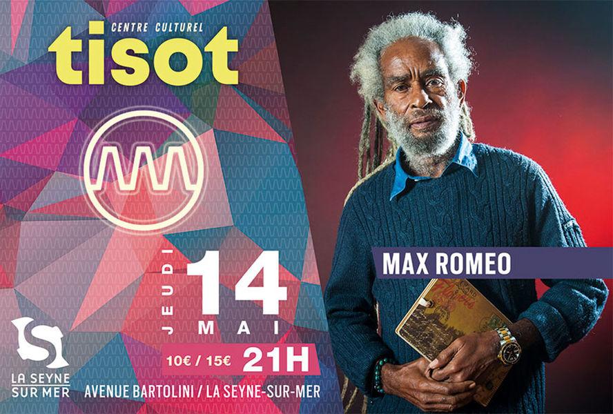 Concert de Max Roméo à La Seyne-sur-Mer - 0