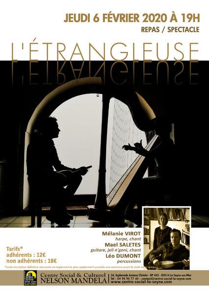 Soirée repas spectacle «L'Etrangleuse» à La Seyne-sur-Mer - 0