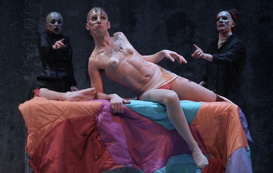 Théâtre «40° sous zéro», mise en scène Louis Arene à Ollioules - 2