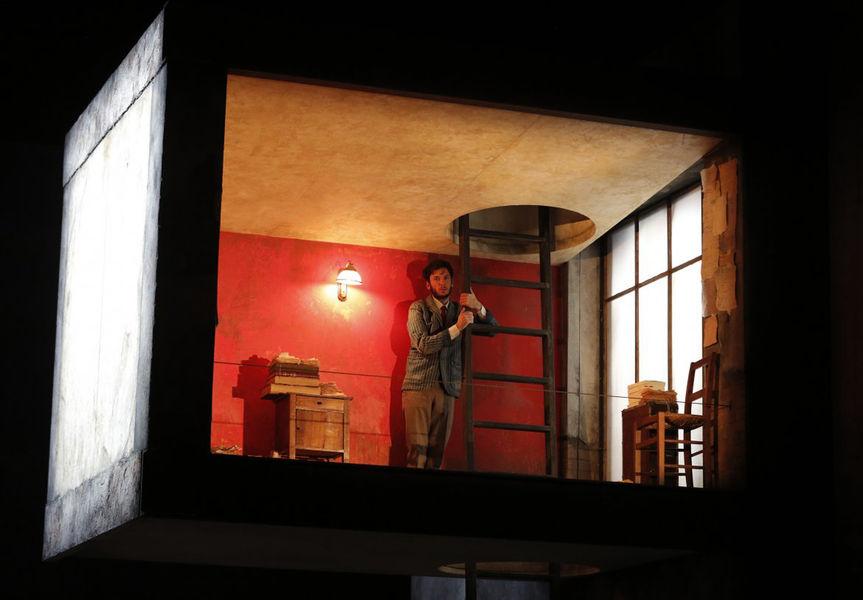 Théâtre «Un instant»?, mise en scène Jean Bellorini à Ollioules - 0