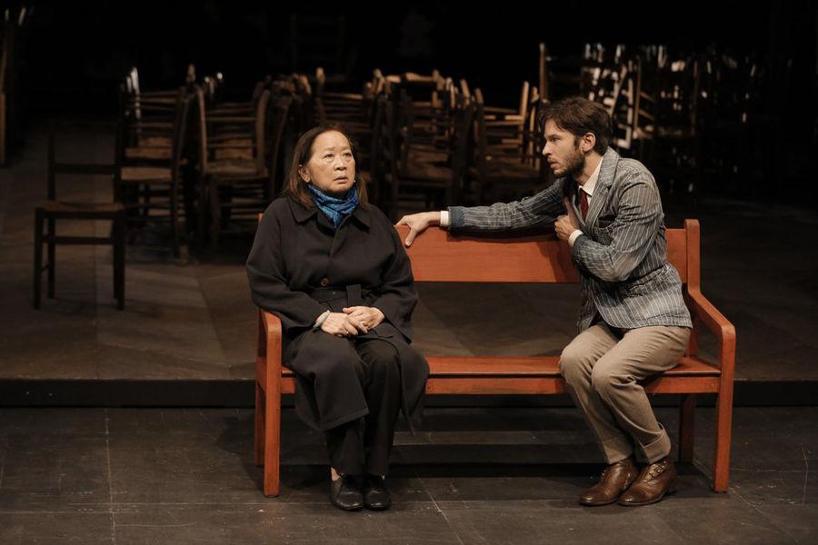 Théâtre «Un instant»?, mise en scène Jean Bellorini à Ollioules - 1