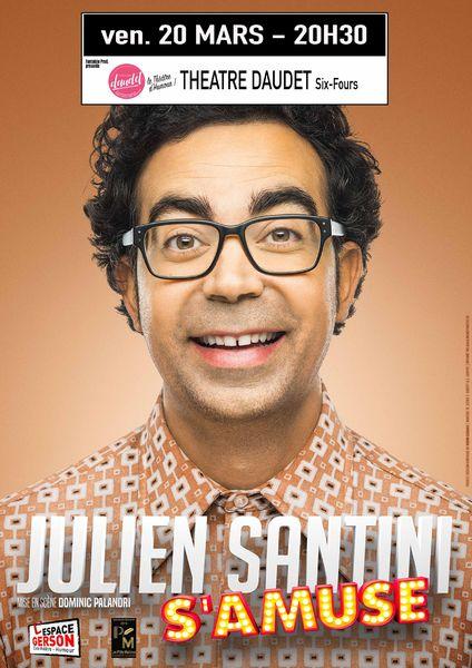 Spectacle : Julien Santini «s'amuse» à Six-Fours-les-Plages - 0