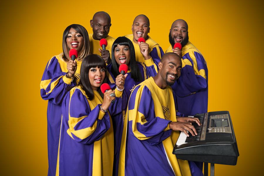 The Glory Gospel Singers de New York à Hyères - 1