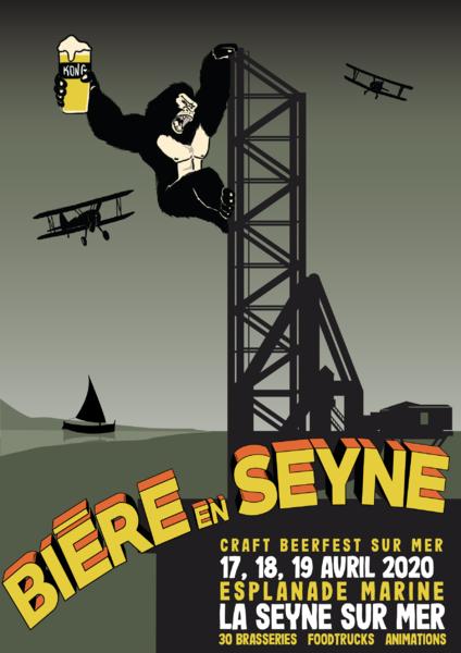 Annulé et reporté : Bière en Seyne «Craft Beerfest sur Mer» à La Seyne-sur-Mer - 0