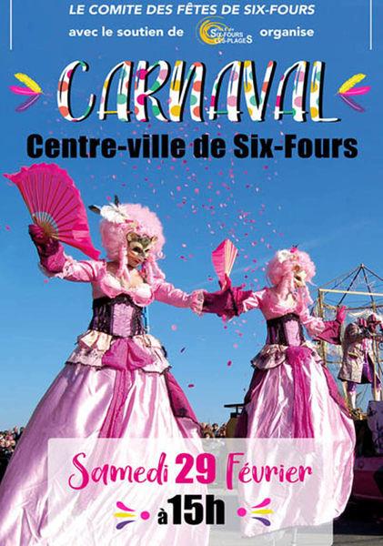 Carnaval à Six Fours – Attention ANNULÉ ! à Six-Fours-les-Plages - 1