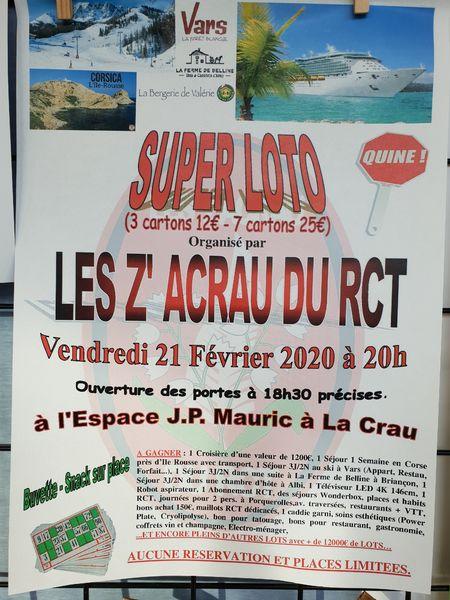 Super Loto des Z'Acrau du RCT à La Crau - 1