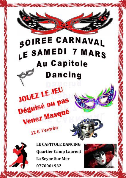 Soirée Carnaval au Capitole à La Seyne-sur-Mer - 0