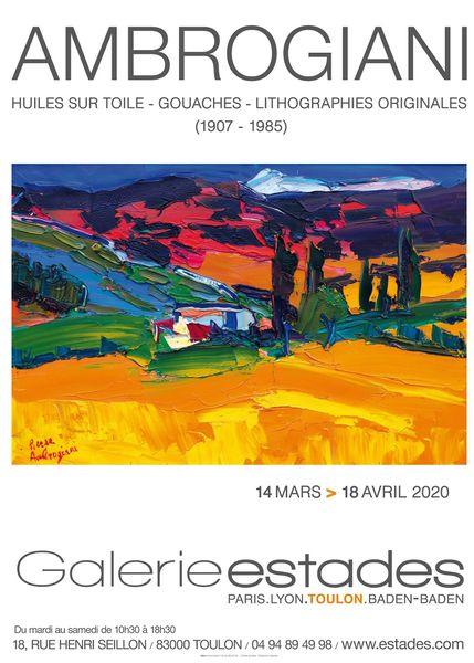 Artistes à découvrir / Pierre Ambrogiani « Le gourmand de couleurs » à Toulon - 0