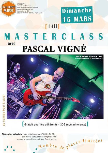 Masterclass avec Pascal Vigné à La Seyne-sur-Mer - 0