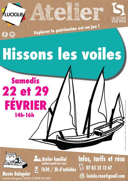 Atelier familial «Hissons les voiles» à La Seyne-sur-Mer - 0