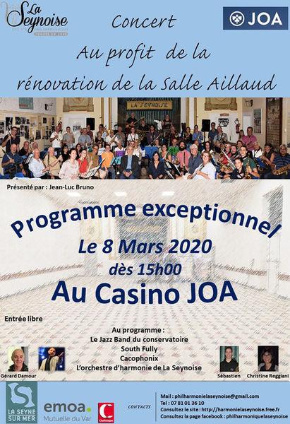 Concert de la Philharmonique La Seynoise à La Seyne-sur-Mer - 0