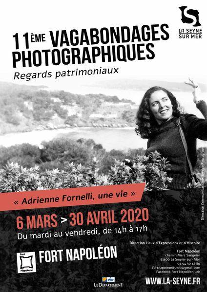 Exposition : 11è Vagabondages photographiques «Adrienne Fornelli, une vie» à La Seyne-sur-Mer - 1