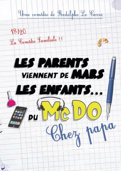 Les parents viennent de Mars et les enfants du MacDo à Hyères - 0