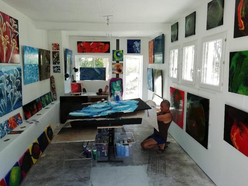 Atelier galerie de Lorenzo Ciufici à La Seyne-sur-Mer - 0