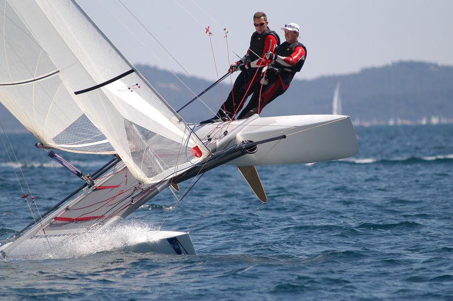 Championnat du monde de Nacra à Hyères - 1