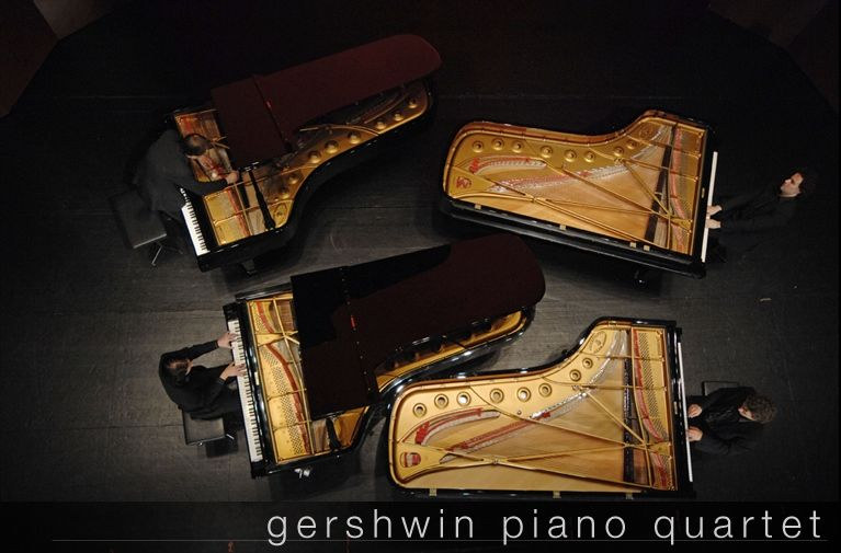 Concert – Gershwin Piano Quartet « Four pianos for Christmas » à Toulon - 0