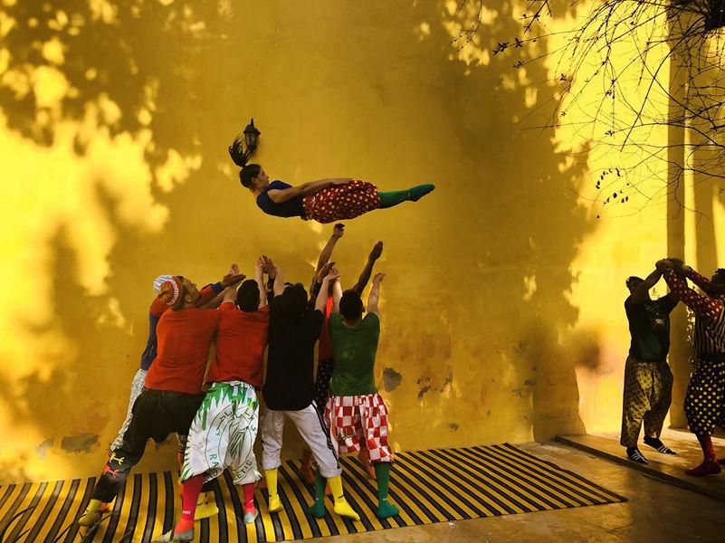 Annulé -Cirque : Fiq ! (Réveille-toi !) par le Groupe Acrobatique de Tanger à Ollioules - 2