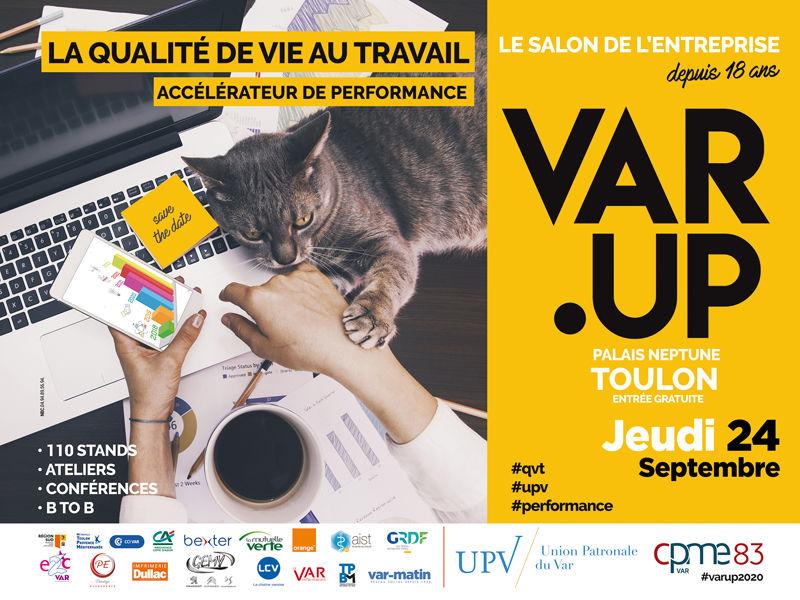Reporté – 18e Salon Var Up à Toulon - 0