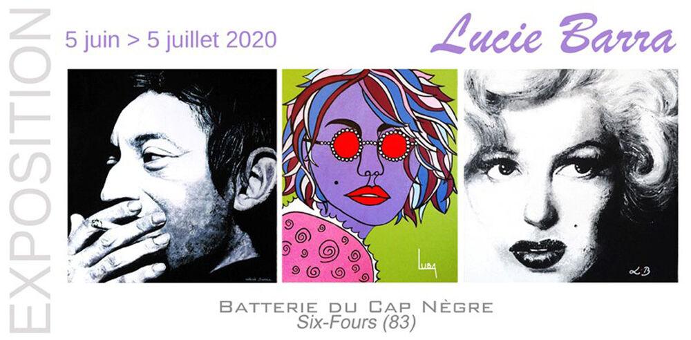 Exposition «Figures» de Lucie Barra (peinture) à Six-Fours-les-Plages - 0