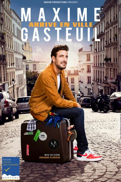 Spectacle – Maxime Gasteuil arrive en ville à Toulon - 0
