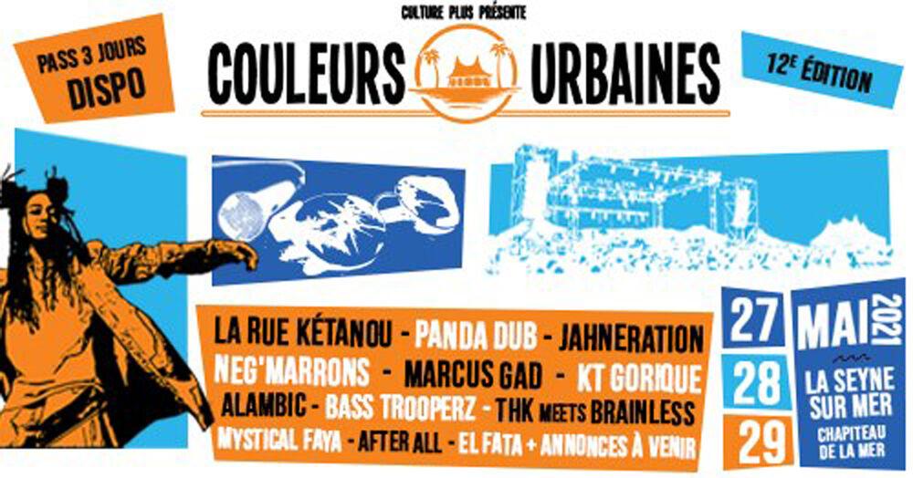 Festival Couleurs Urbaines #12 à La Seyne-sur-Mer - 0