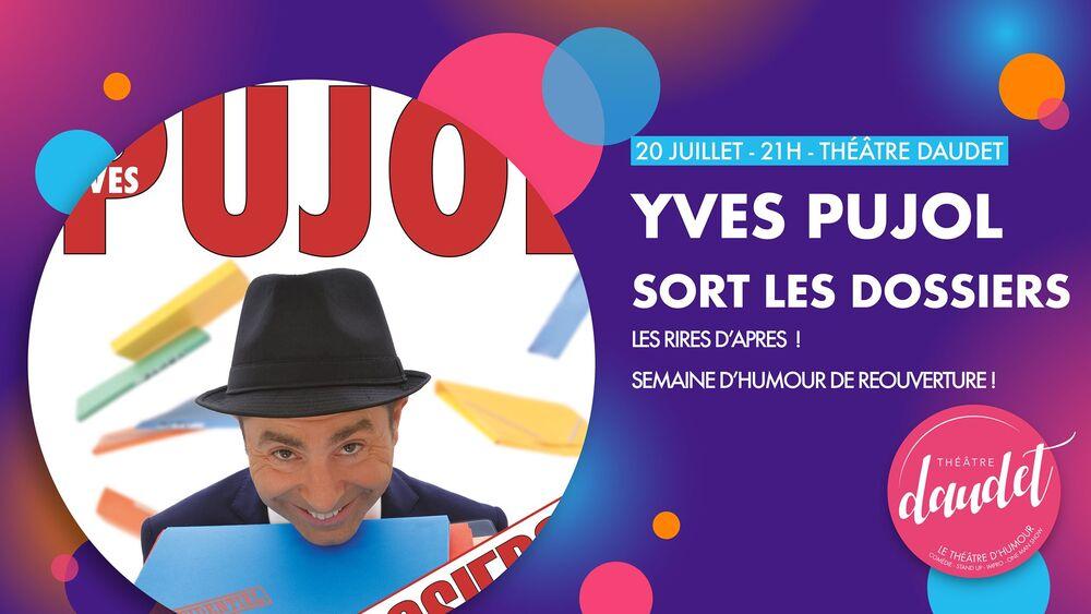 Spectacle d'Yves Pujol «Pujol sort les dossiers» à Six-Fours-les-Plages - 0