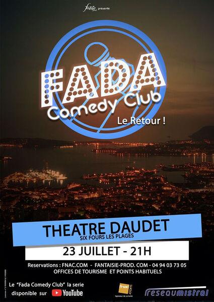 Fada Comedy Club (plateau de jeunes humoristes) à Six-Fours-les-Plages - 0