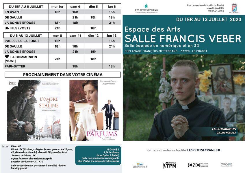 Cinéma programme – à Le Pradet - 1