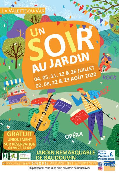 Concert – Un soir au Jardin – Josephine & Django Quartet à La Valette-du-Var - 0