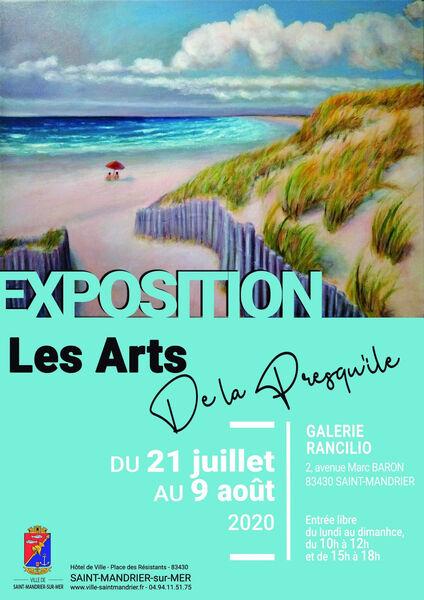 Exposition Les Arts de la Presqu'île à Saint-Mandrier-sur-Mer - 0