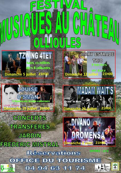 7e festival de musique au Château : Madam Wait's (Tom Songs) à Ollioules - 0