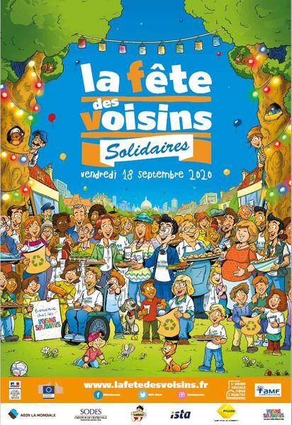 Fête des voisins solidaires à Toulon - 0