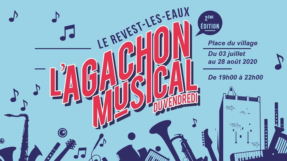Concert – L'agachon musical du vendredi à Le Revest-les-Eaux - 0