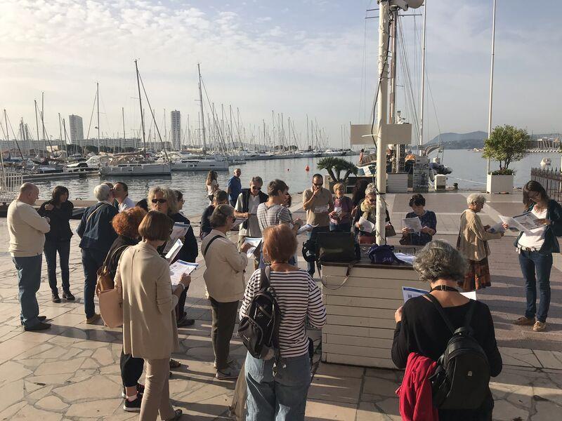 Promenade architecturale commentée « Toulon, la ville port au fil des siècles » CAUE du Var à Toulon - 1