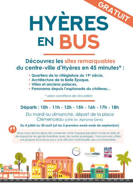 Visite de Hyères en bus à Hyères - 1