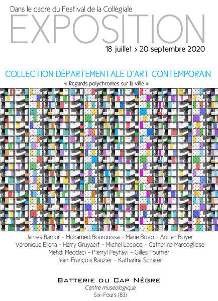 Exposition de la Collection départementale d'Art contemporain «Regards polychromes sur la ville» à Six-Fours-les-Plages - 0